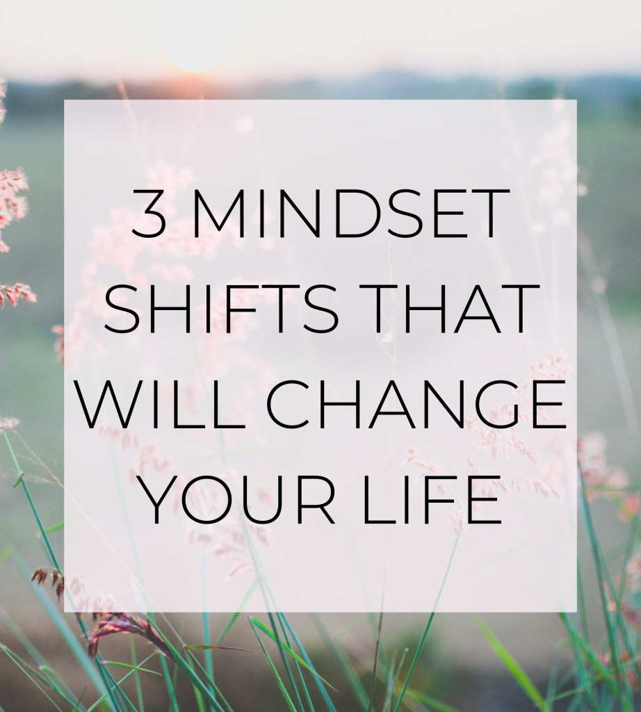 mindset shifts graphic